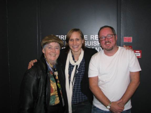 Mani with Sally Morris (Perth) and ITANZ colleague Tommy Hamilton