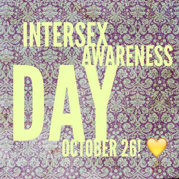 Intersex day poster 2015